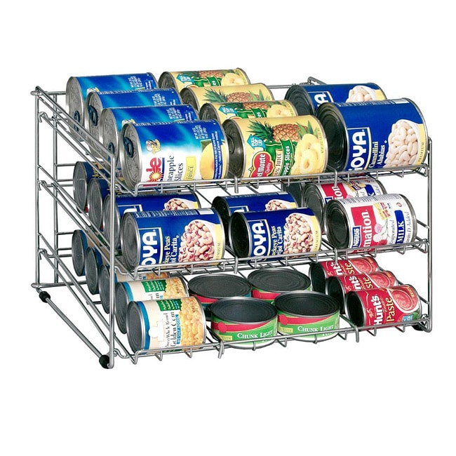 Canned Food Storage Rack - Thumbnail 0