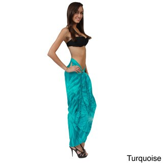 1 World Sarongs Women's Tie Dye Sarong (Indonesia)