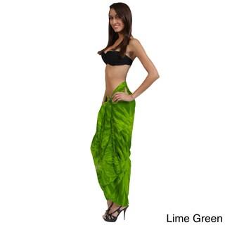 1 World Sarongs Women's Tie Dye Sarong (Indonesia)