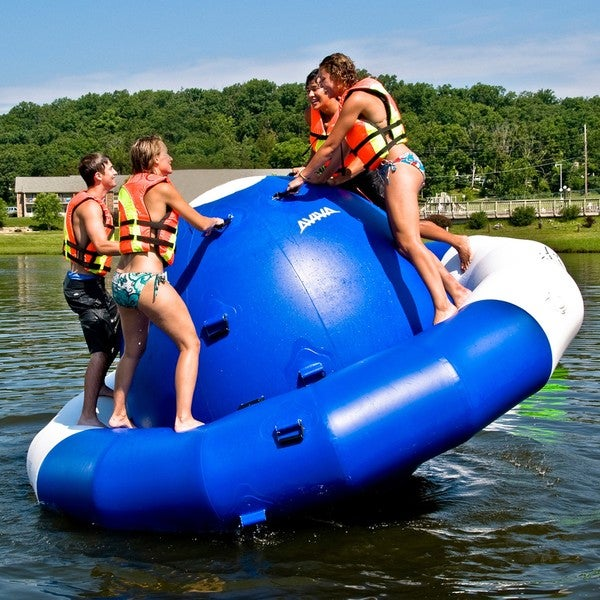 Rave Sports 12-foot Inflatable Saturn Inflatable Water Toy