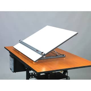 Martin Universal Design Adjustable Angle Parallel Edge Drafting Desk Top Board|https://ak1.ostkcdn.com/images/products/6183044/P13835299.jpg?impolicy=medium