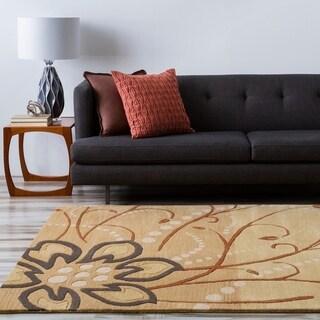Hand-tufted Austin Floral Wool Rug (7'6 x 9'6)