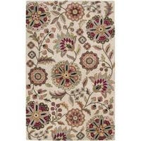 Hand-tufted Tampa Floral Wool Area Rug (7'6 x 9'6)