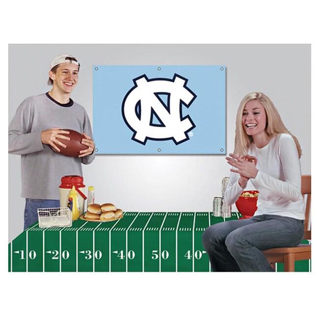 North Carolina Tar Heels Ncaa Football Party Kit (1)