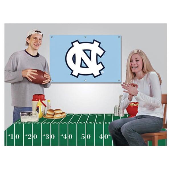 North Carolina Tar Heels NCAA Football Party Kit