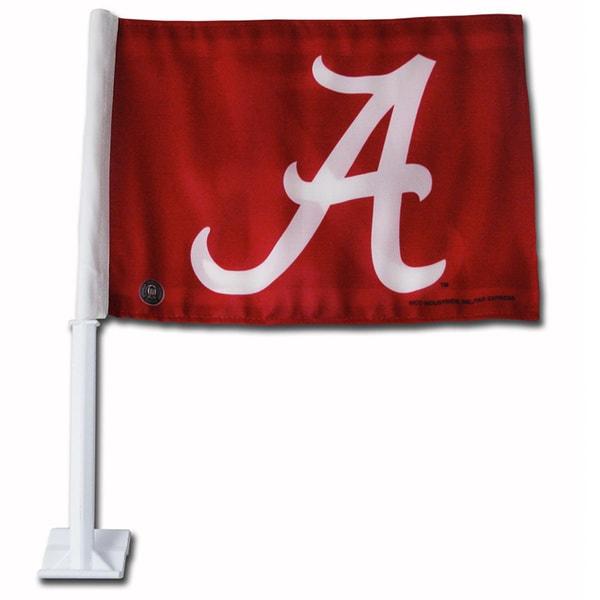 Alabama Crimson Tide 19-inch Car Flag
