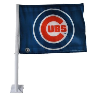 Chicago Cubs 19-inch Car Flag
