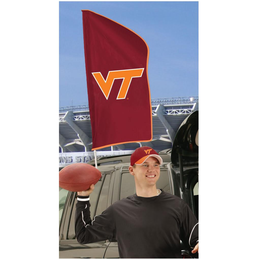 Virginia Tech Hokies Tailgating Flag