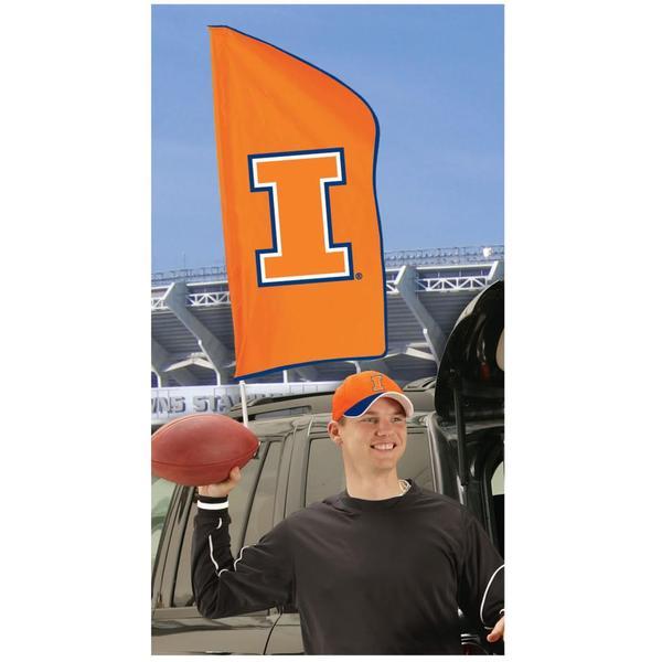 Illinois Fighting Illini Tailgating Flag