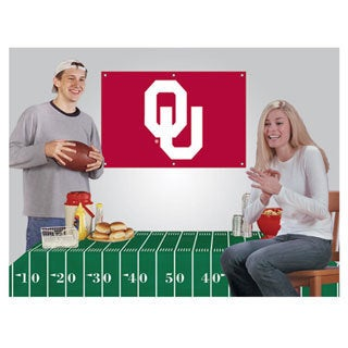 Oklahoma Sooners NCAA Football Party Kit