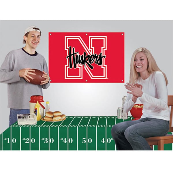 Nebraska Cornhuskers NCAA Football Party Kit