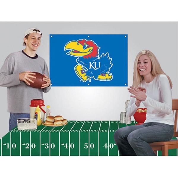 Kansas Jayhawks NCAA Football Party Kit