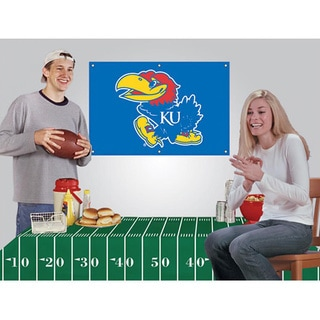 Kansas Jayhawks NCAA Football Party Kit