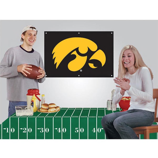 Iowa Hawkeyes NCAA Football Party Kit