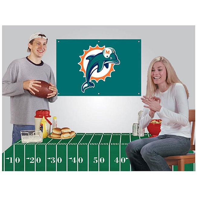 Miami Dolphins NFL Football Party Kit