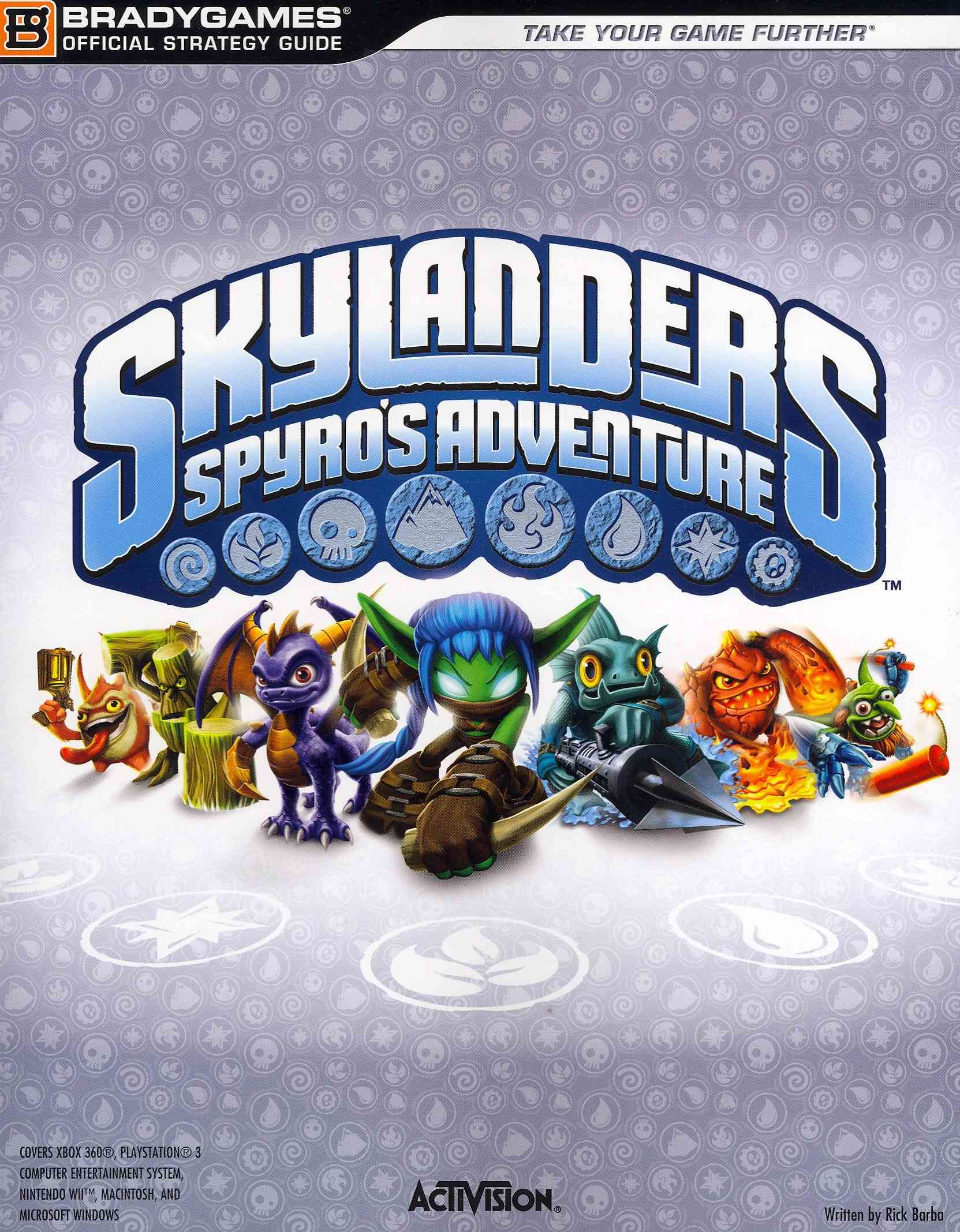 Skylanders: Spyro's Adventure Official Strategy Guide (Paperback)