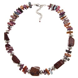Pearlz Ocean 18-inch Jasper Necklace