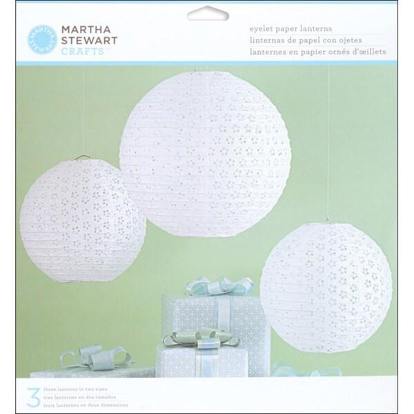 Marha Stewart Doily Lace Paper Lanterns Kit