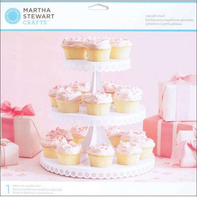 Martha Stewart Doily Lace Cupcake Stand