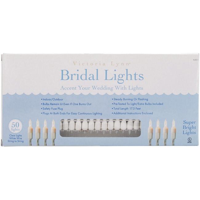 Darice Bridal Lights (50 Count)