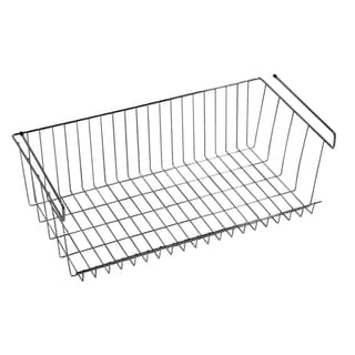 Z3 Large Under Shelf Basket Closet Storage