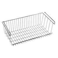Z3 Large Under Shelf Basket Closet Storage