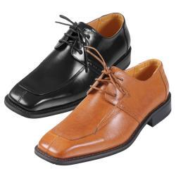Boston Traveler Executive Collection Men's Leather Oxford Shoes - Thumbnail 0