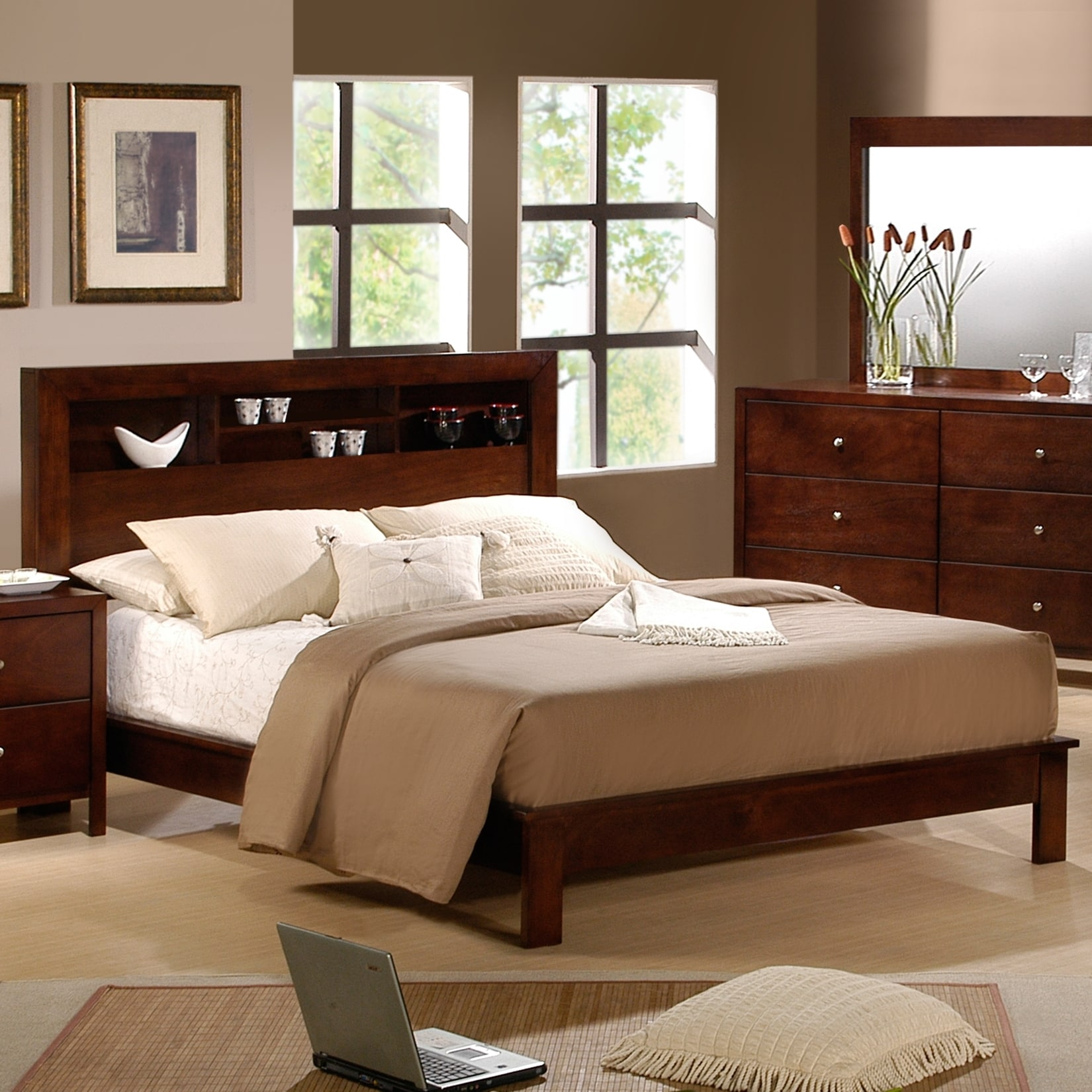 Picket House Sonata Display Headboard Queen-size Bed