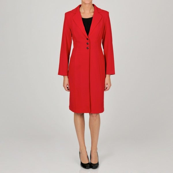 Shop Danny Nicole Women S Sheath Dress With Coordinating Red