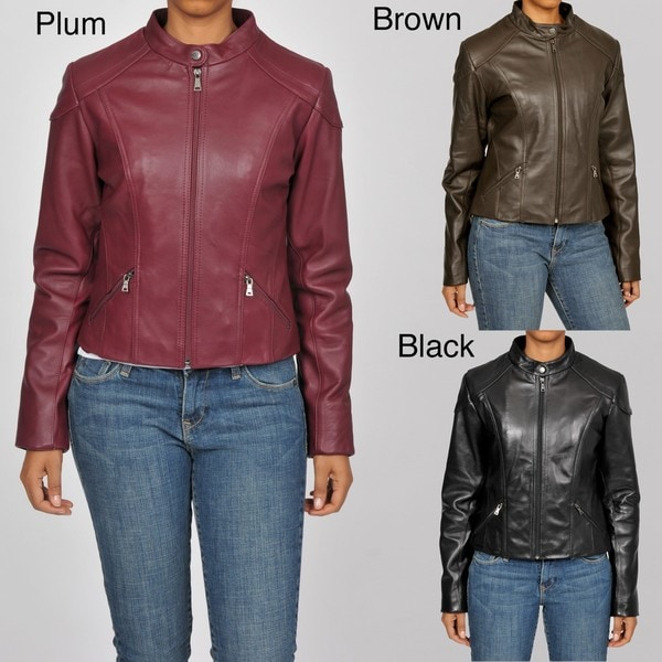 Knoles & Carter Women's Glove Fit Short Leather Jacket