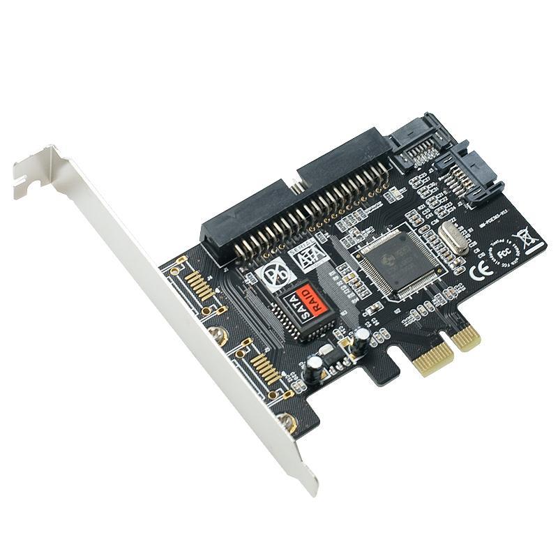 SYBA Combo SATA II/ IDE PCI-e Host Controller Card