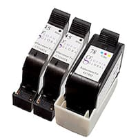 Sophia Global Remanufactured HP 45 and HP 78 Black and Color Ink Cartridges (Pack of 3)