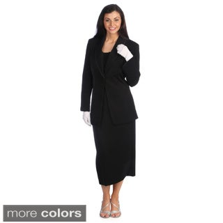 Black suit dress for women