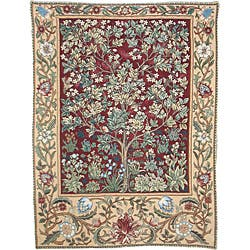 Tree of Life Wall Tapestry Red (4'6 x 3'8)|https://ak1.ostkcdn.com/images/products/6185902/Tree-of-Life-Wall-Tapestry-Red-46-x-38-P13837534.jpg?impolicy=medium
