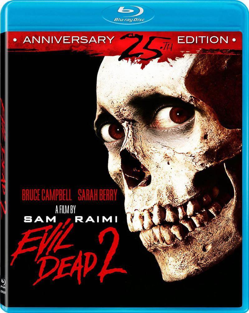 Evil Dead 2 (25th Anniversary Edition) (Blu-ray Disc)