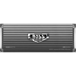 BOSS AUDIO AR2500M Armor 2500-Watt Monoblock, Class A/B 2 to 8 Ohm St