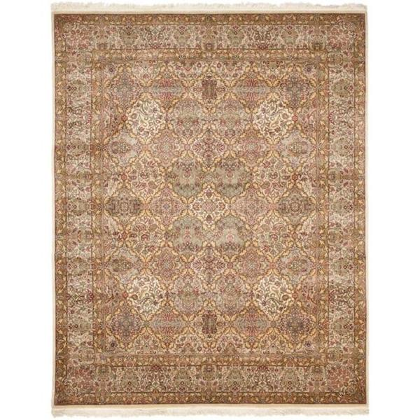 Safavieh Couture Royal Kerman Hand-Knotted Multicolor Wool Area Rug (10' x 14')