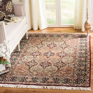 Safavieh Couture Royal Kerman Hand-Knotted Multicolor Wool Area Rug (5' x 7')
