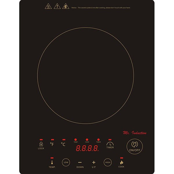 Built In/ Countertop 1300W Induction Cooktop