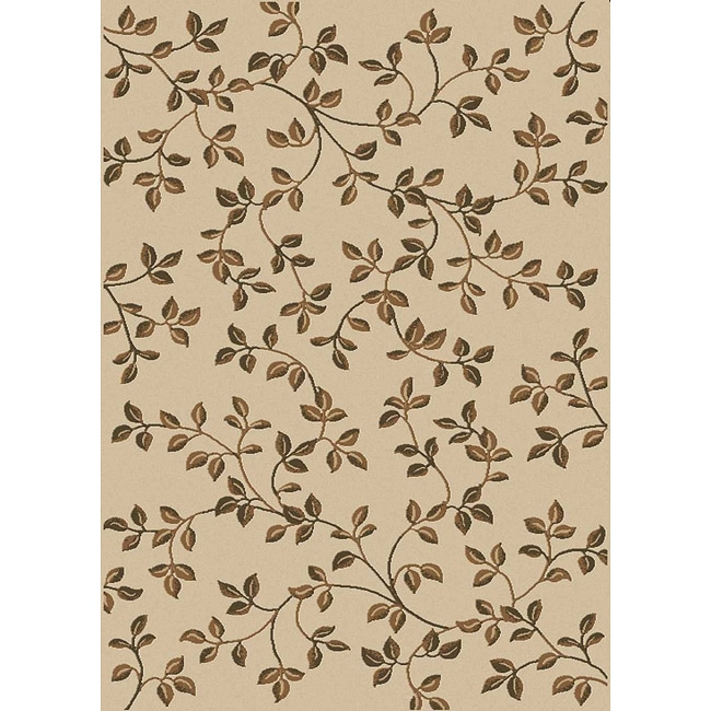 Admire Home Living Virginia Ivory Area Rug (7'9 x 11') - Thumbnail 0