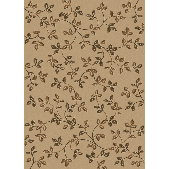 Admire Home Living Virginia Beige Area Rug (7'9 x 11') - Thumbnail 0