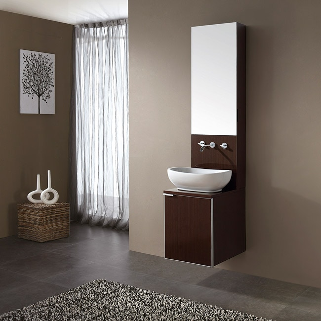 Attrayant Soho 16 Inch Sink And Mirror Cabinet Vanity Set