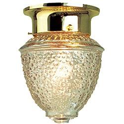 Woodbridge Lighting Basic 1-light Polished Brass Flush Mount (Pack of 12)