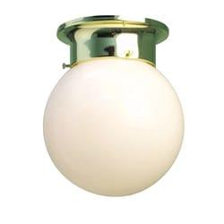 Woodbridge Lighting Basic 1-light Opal Glass Polished Brass Flush Mount (Pack of 12)