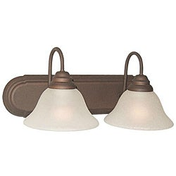 Woodbridge Lighting Basic 2-light Bronze Bath Bar