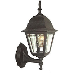Woodbridge Lighting One-Light Outdoor Wall Light with Powder Coat Black Finish