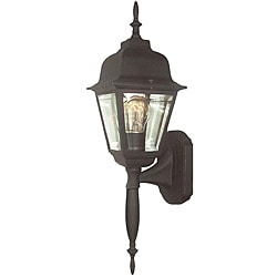 Woodbridge Lighting Basic 1-light Powder Coat Black Outdoor Wall Light