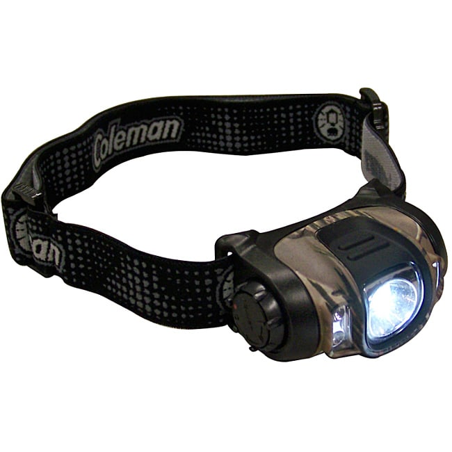 Coleman Realtree Camo Multi-color LED Headlamp