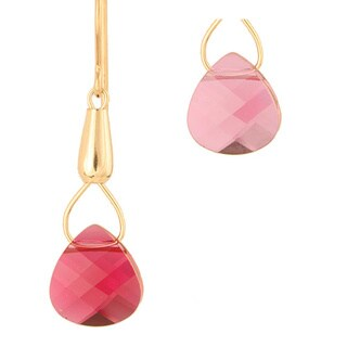 Teardrops of Aglaia Crystal Earrings