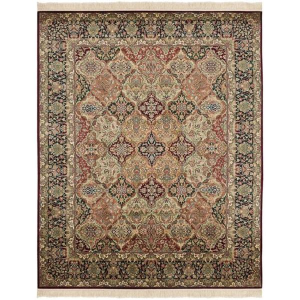 Safavieh Couture Royal Kerman Hand-Knotted Multicolor Wool Area Rug (9' x 12')